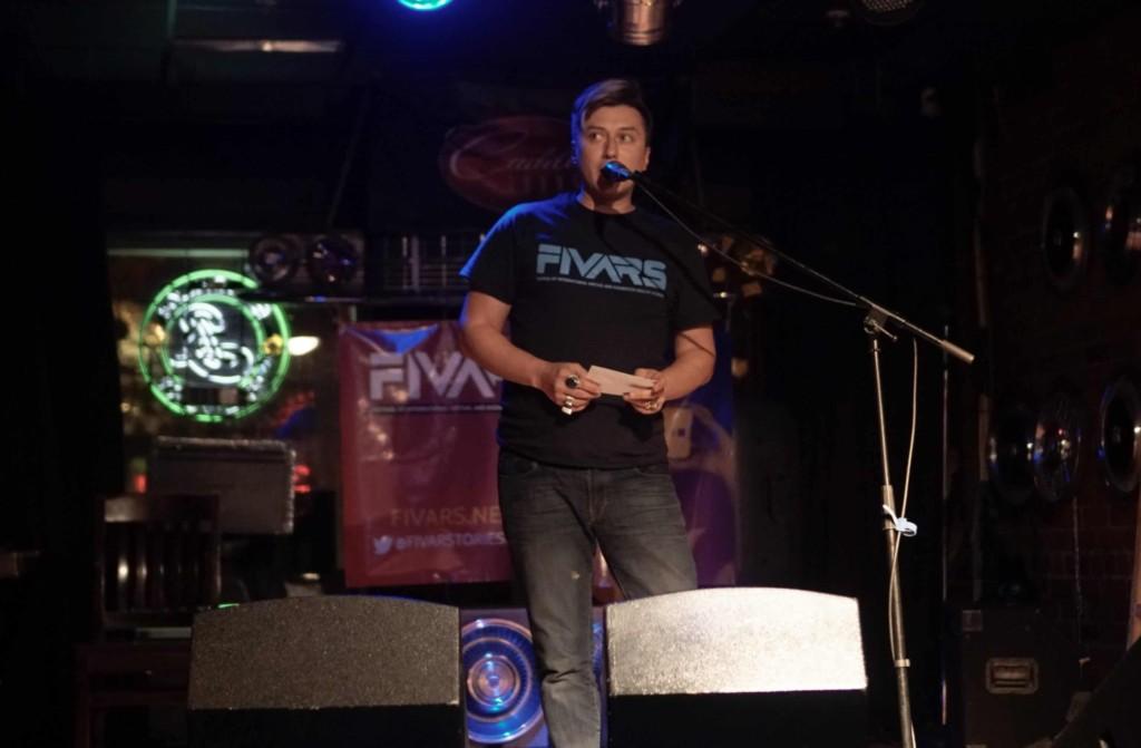 Keram Malicki-Sanchez presents the FIVARS 2016 Awards