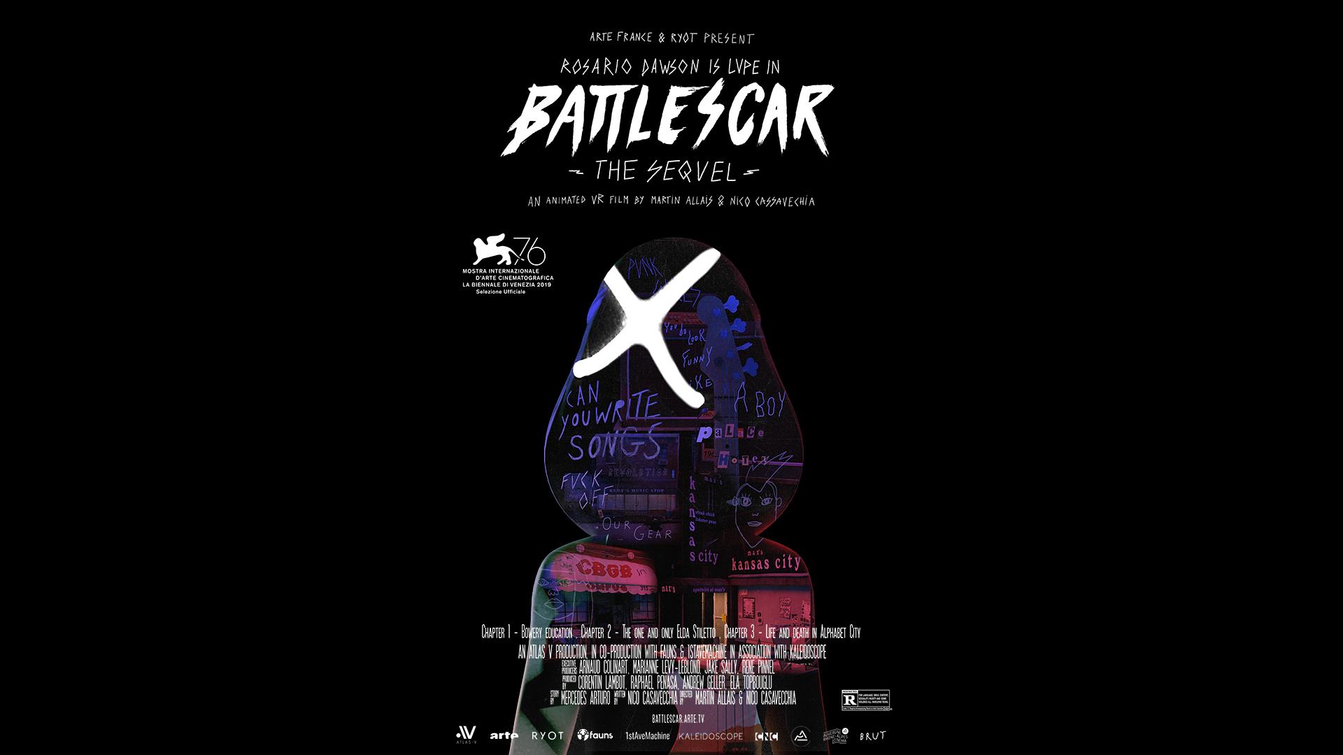 Battlescar Poster