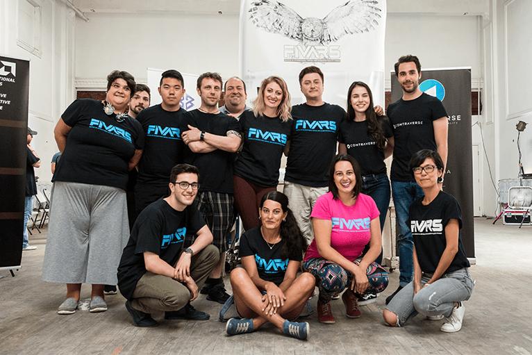 FIVARS 2018 crew