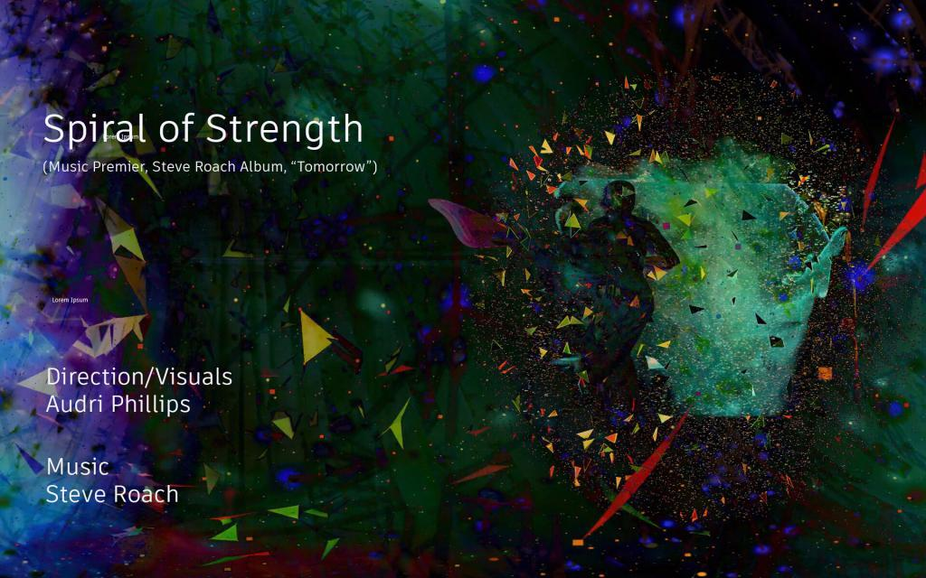 Spiral of Strength VR - poster - FIVARS 2020